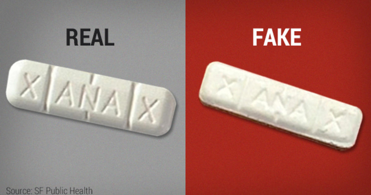 Real Hulk Xanax >> Fake Xanax laced with pain drug fentanyl led to overdoses, death - CBS News