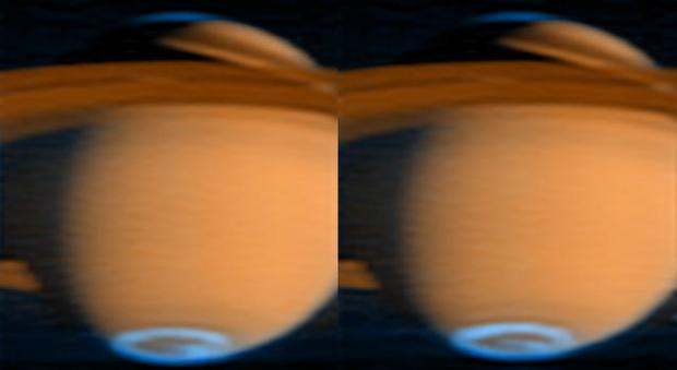 Cassini captures Saturn and its moons