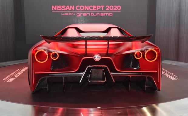 Excellent Nissan Concept 2020 Vision Gran Turismo  Wonderful And