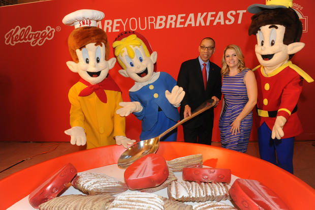 Iconic food mascots that'll never get old