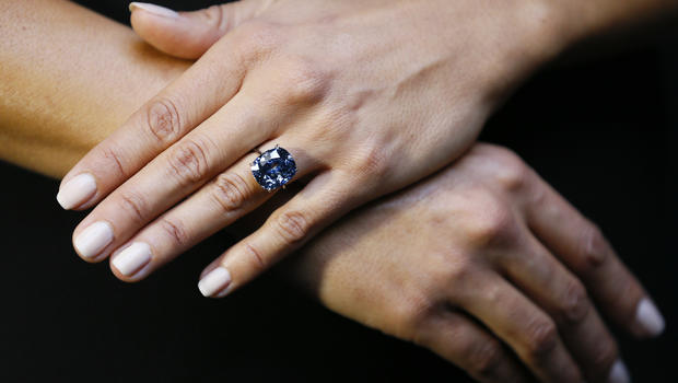 Diamond Sells For Record $48.5 Million At Auction