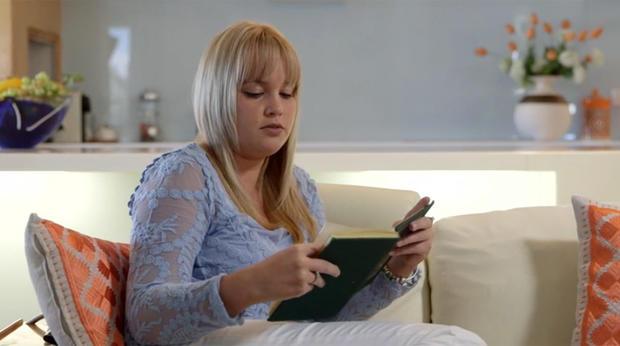 Samantha Geldenhuys从她母亲的日记中读到