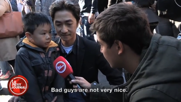 Heartbreaking Interview With Little Boy And His Father After Paris Attacks