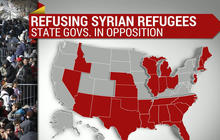 More than half of U.S. governors reject Syrian refugees
