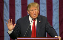 Trump under fire for comments about Black Lives Matter protester