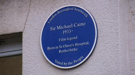 An unusual honor for Sir Michael Caine