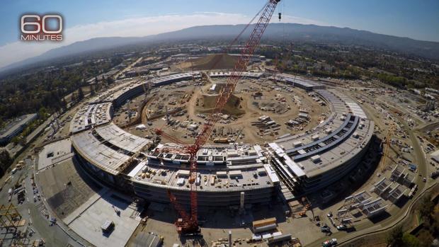 "Inside Apple's new ""spaceship"" headquarters"