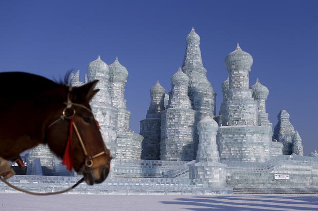 China's spectacular ice and snow sculpture festival
