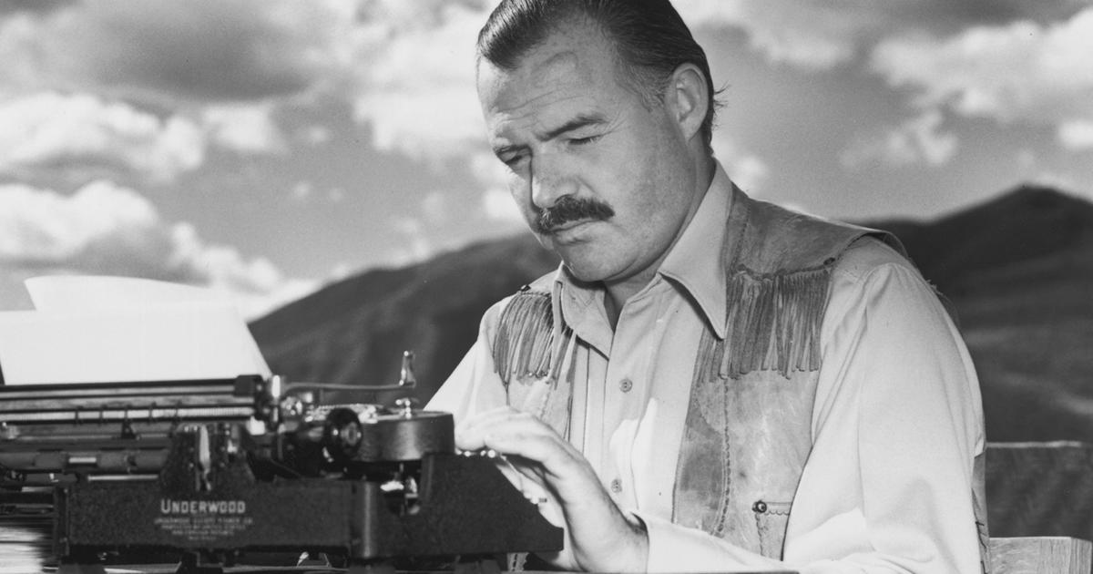 The Life And Times Of Ernest Hemingway Cbs News