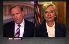 """Hillary Clinton says rival Bernie Sanders is trying to """"avoid responsibility"""" for gun vote"""