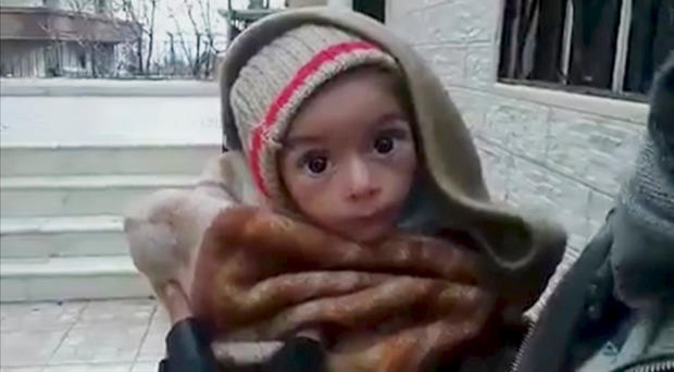 """""""Starvation as a weapon of war"""" in Syria"""
