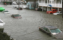 Blizzard causes flooding at Jersey Shore