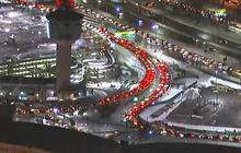 LaGuardia Airport gridlock causes major delays on NYC highway