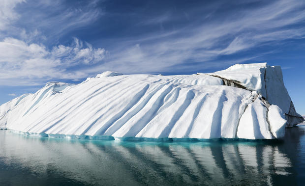 The abstract beauty of Greenland