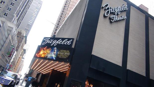 Curtain falls on NYC's landmark Ziegfeld Theatre