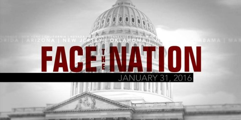 Open: This is Face the Nation, January 31