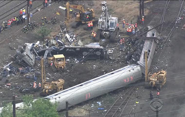 Philadelphia Amtrak crash evidence released