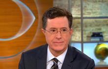 "Stephen Colbert talks Donald Trump, Super Bowl ""Late Show"""