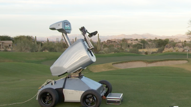 Golf Robot Named LDRIC Hits A Hole-In-One