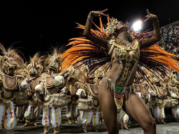 unidos da tijuca carnival in rio 2016 pictures cbs news