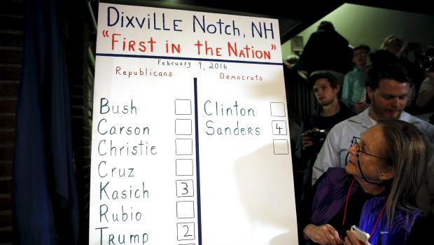 Campaign 2016: Voting begins in New Hampshire primary ...