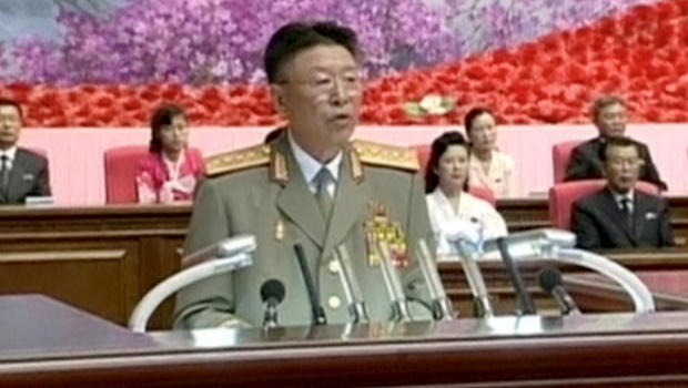 Former north korean military chief not dead south admits cbs news