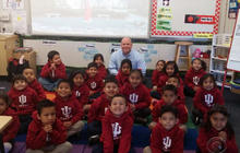 California man gives life savings to kindergarteners for college