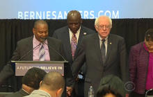 Sanders and Clinton fight for black votes