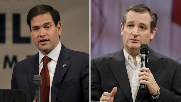 Cruz defends his trustworthiness, blasts Trump, Rubio