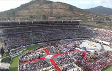 Pope Francis brings message of hope to youth in Mexico