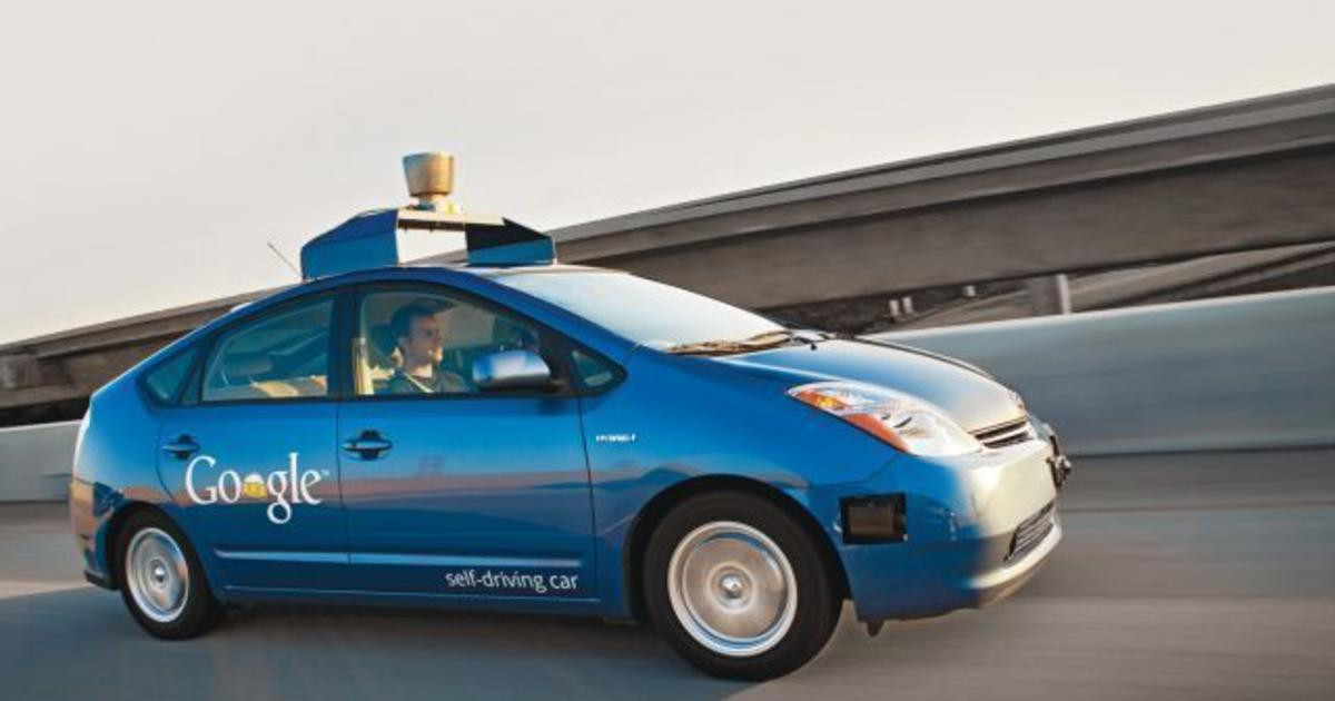 Google's self-driving cars learn how to honk - CBS News