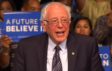 Bernie Sanders holds rally in Miami