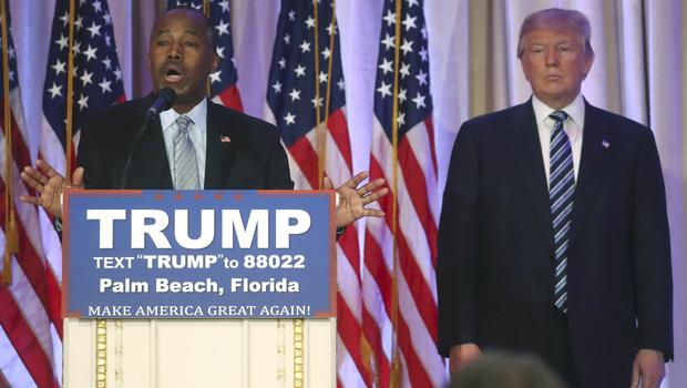 Carson says he wishes he endorsed someone other than Trump