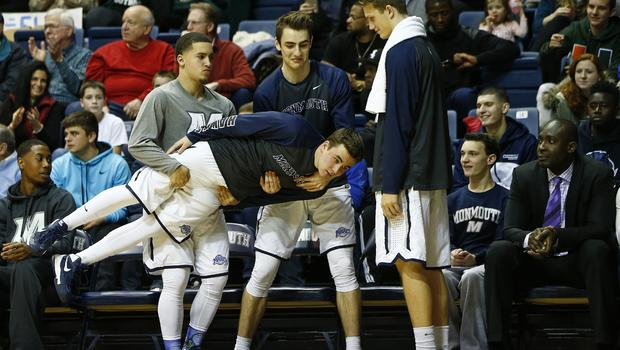 Why the bench warmers are Monmouth University's breakout basketball stars