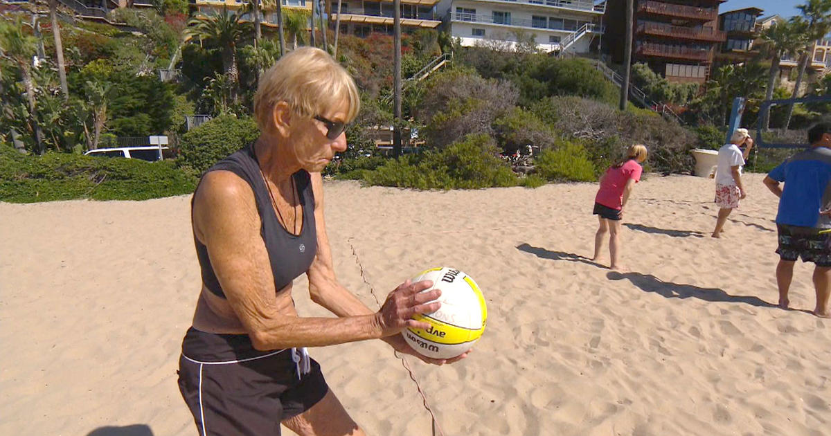 80-year-old volleyball player serves up passion for the ...