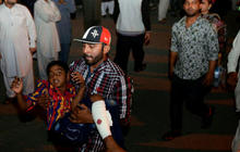 Dozens killed in Easter terror attack in Pakistan
