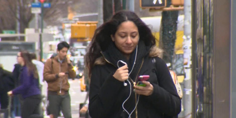 Should walking while texting be illegal?