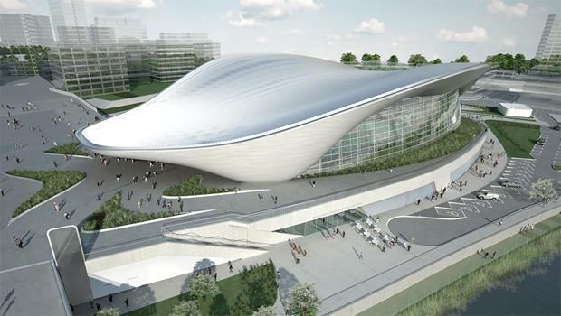 伦敦奥林匹克水生中心 - 扎哈·哈迪德,建筑师-620.jpg