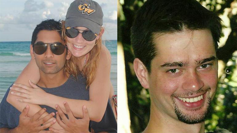 Rahul Gupta and Taylor Gould, left; Mark Waugh