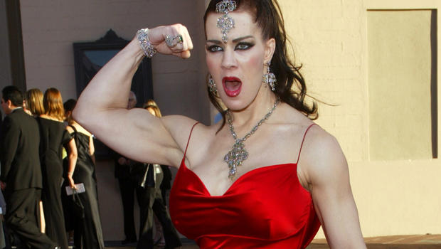 File photo shows joanie laurer former pro wrestler known as chyna