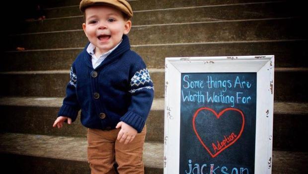3-year-old Arizona boy celebrates adoption in viral ...