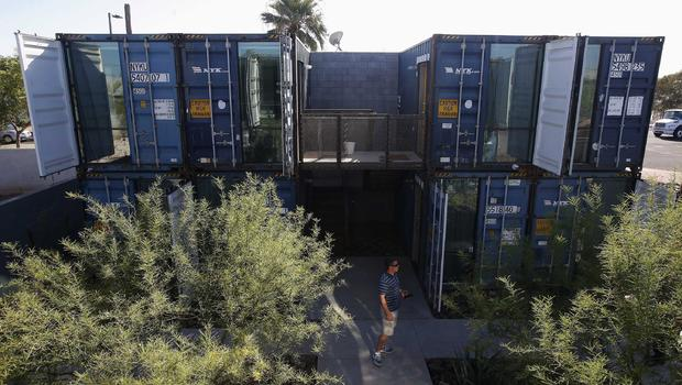 Shipping container homes offgrid and underground - Container homes arizona ...