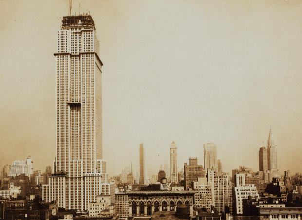 Image Result For Empire State Building Being Built In