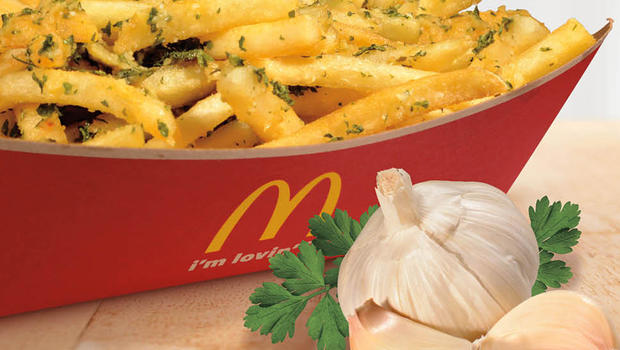 Garlic Fries, Mighty Wings — and 8 more items on McDonald's test menu