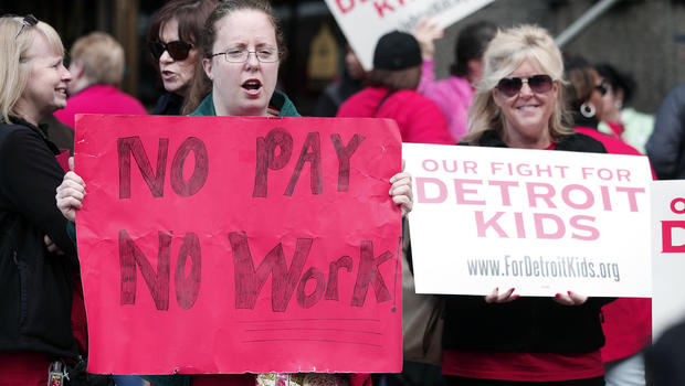 Detroit teachers to return to classroom after sick-out