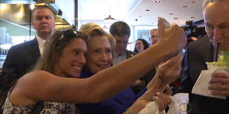 Clinton hoping to parlay woman card into White House jackpot