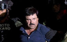 """Mexican drug lord """"El Chapo"""" moved to prison near US border"""