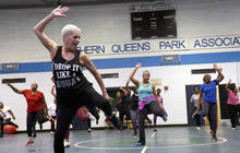 "Feisty fitness instructor: ""Fitness has no age"""