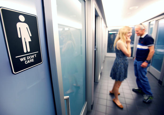 states push back on transgender bathroom use cbs news