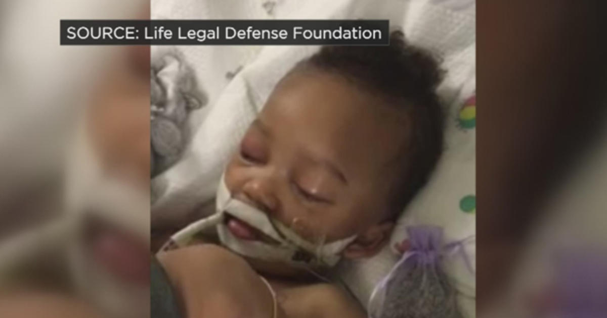 ​California toddler can stay on life support 1 more week, judge rules - CBS News